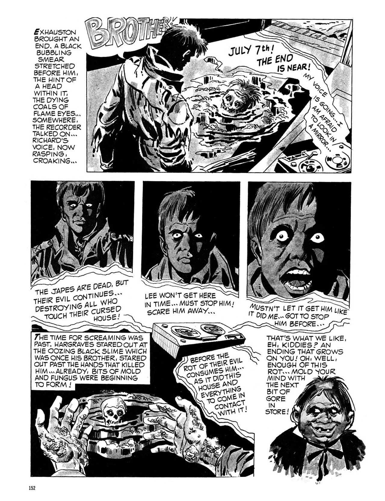 Read online Eerie Archives comic -  Issue # TPB 1 - 153