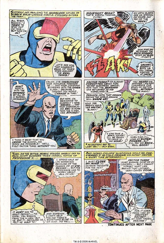 Read online Uncanny X-Men (1963) comic -  Issue #77 - 17
