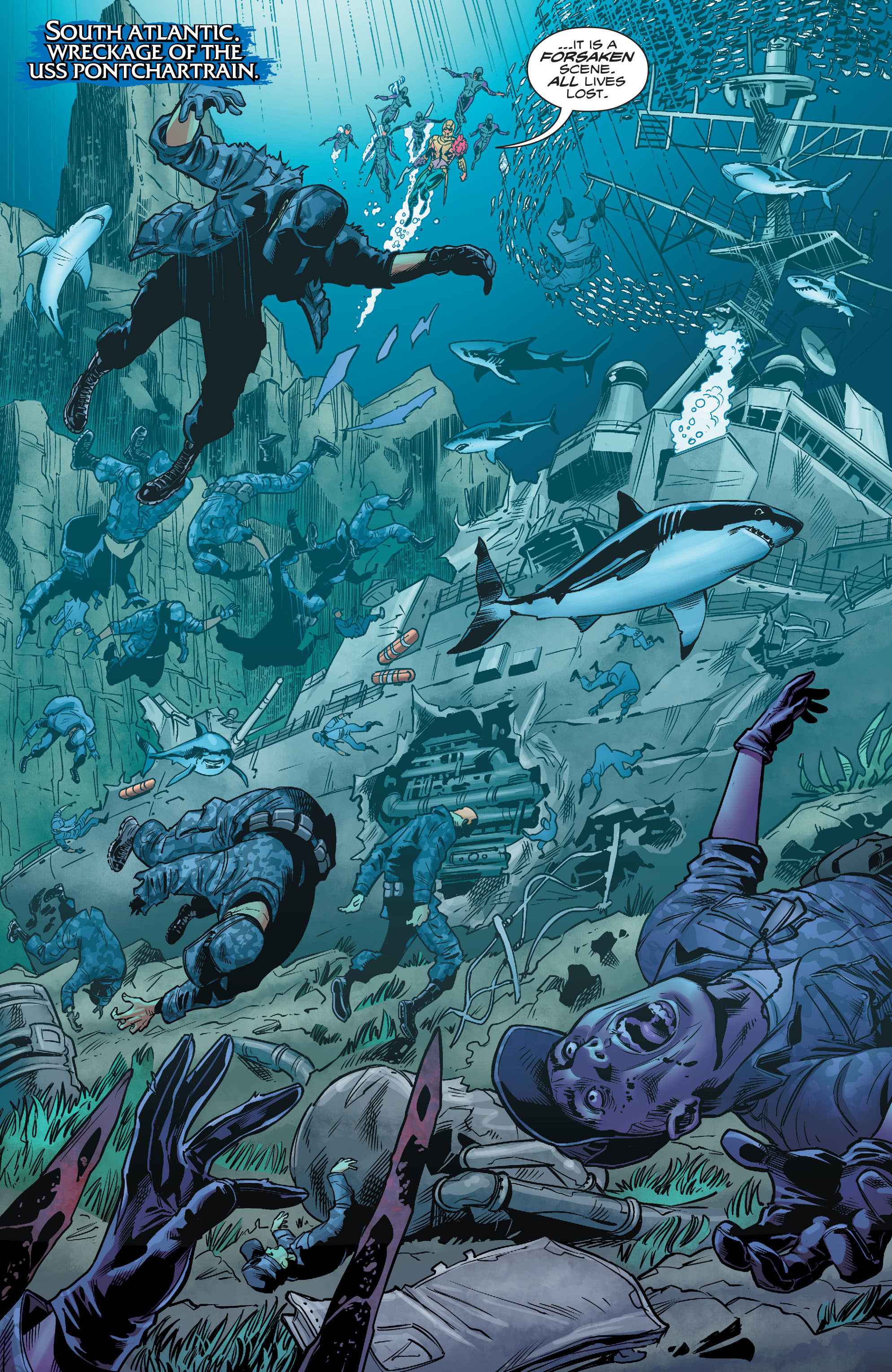 Read online Aquaman (2016) comic -  Issue #4 - 10