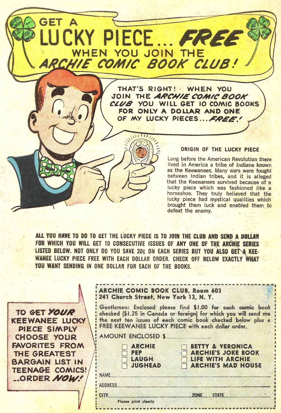 Read online Archie (1960) comic -  Issue #142 - 34