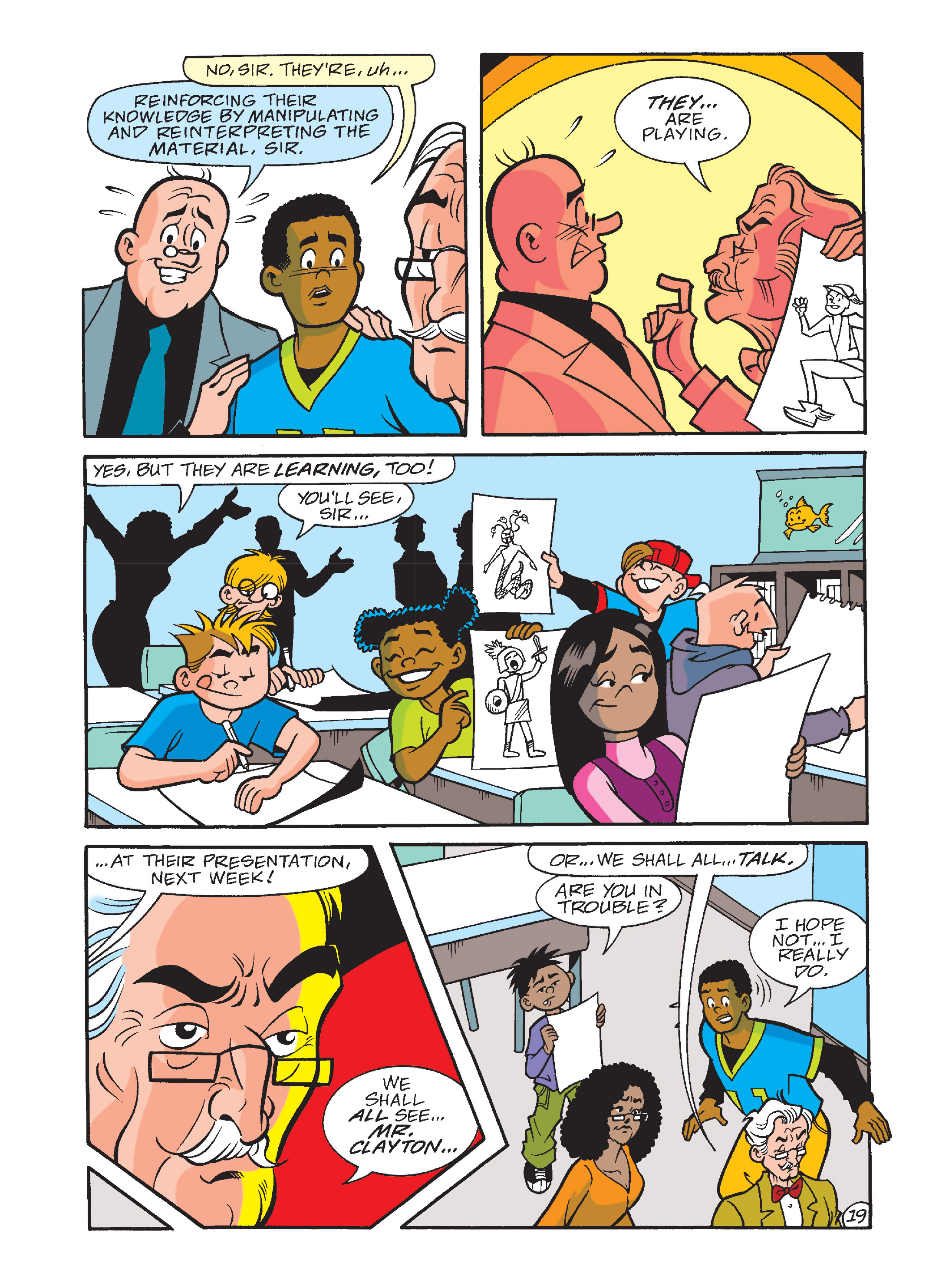 Read online Archie's Funhouse Double Digest comic -  Issue #10 - 54
