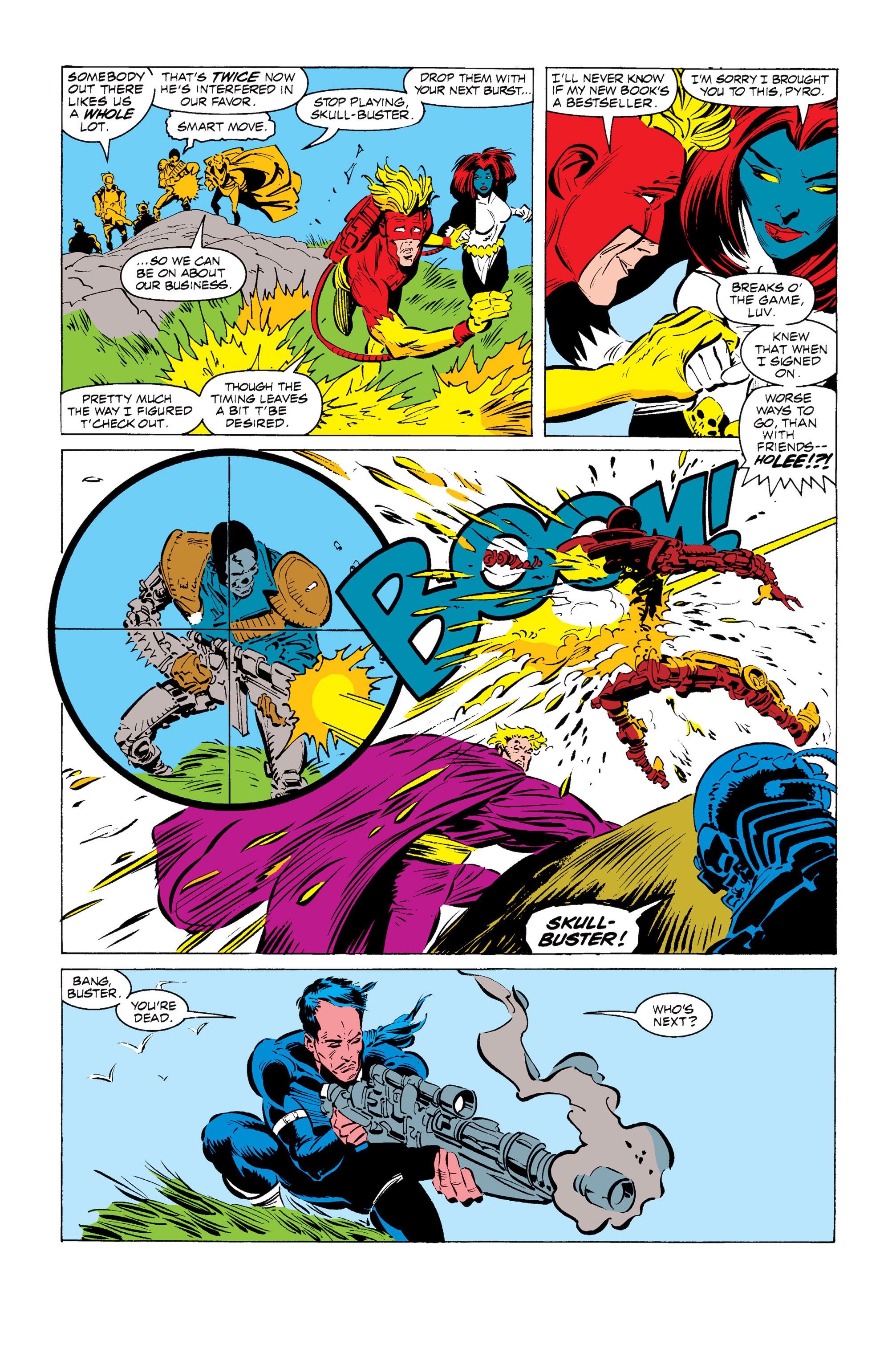 Read online Uncanny X-Men (1963) comic -  Issue #255 - 18