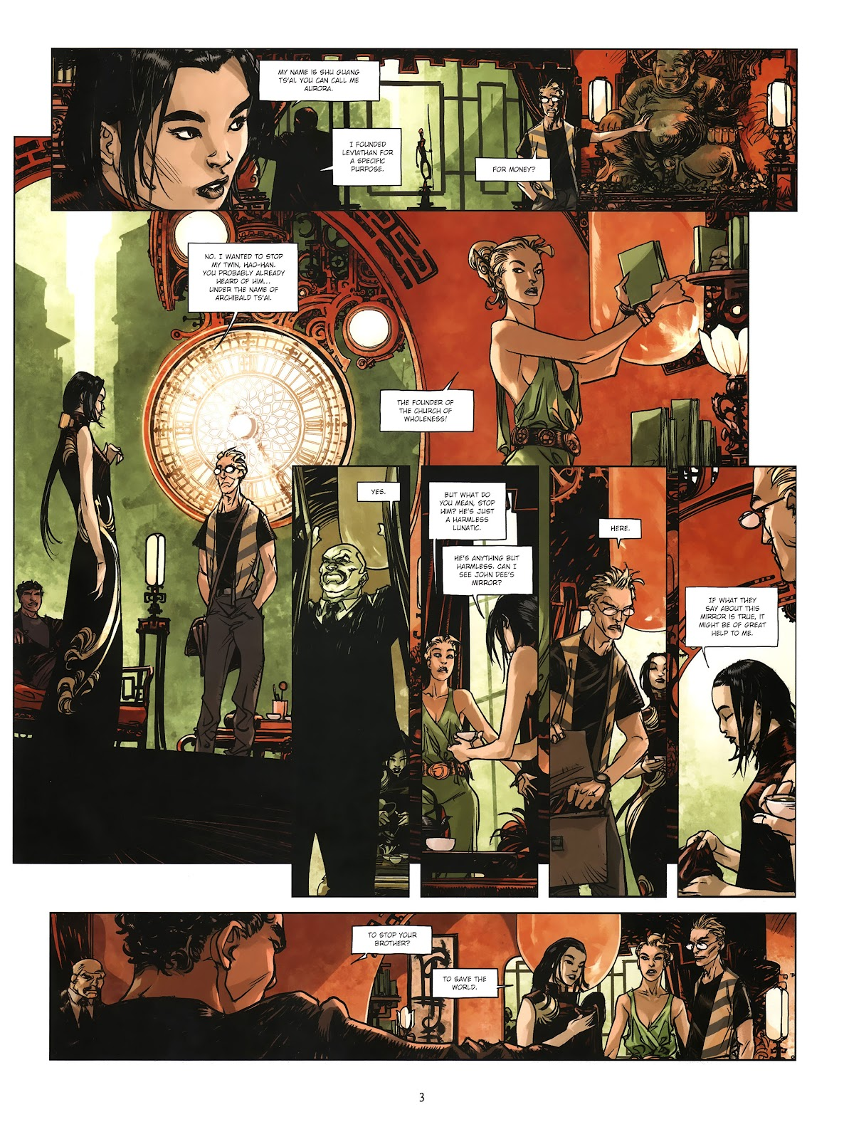 Read online Cutting Edge (2013) comic -  Issue #4 - 4