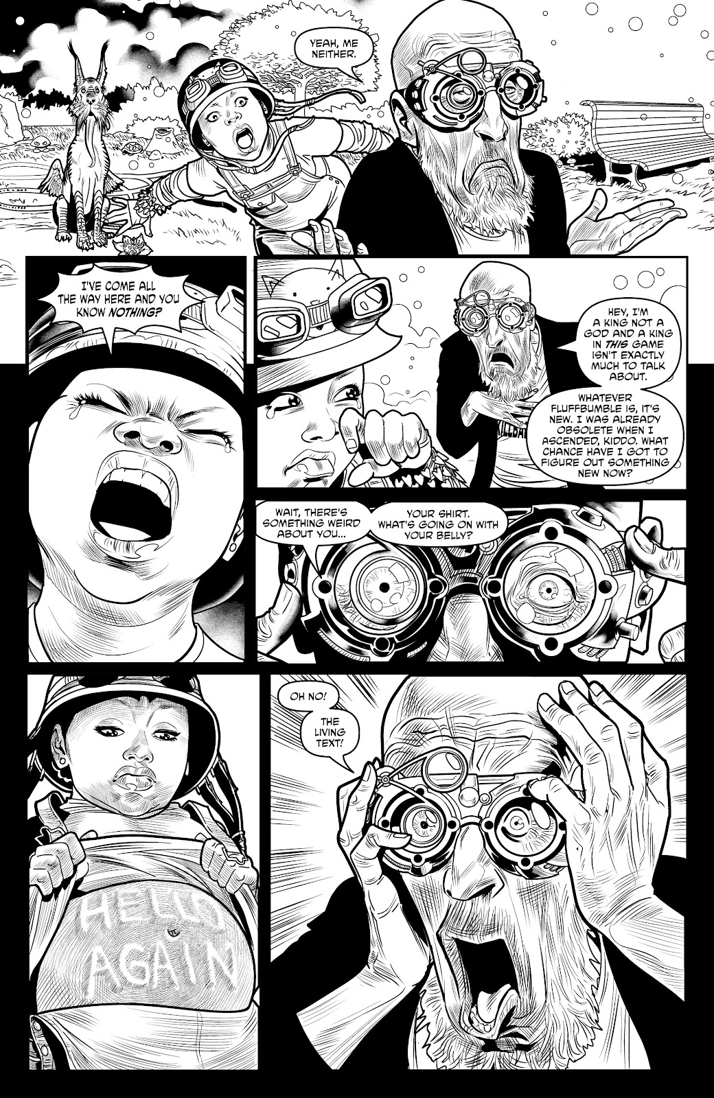 Read online Alan Moore's Cinema Purgatorio comic -  Issue #18 - 28