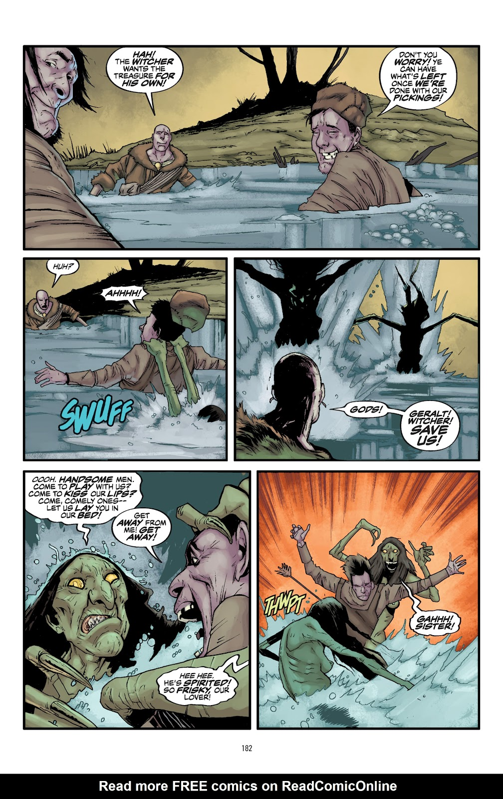 Read online The Witcher Omnibus comic -  Issue # TPB (Part 2) - 82