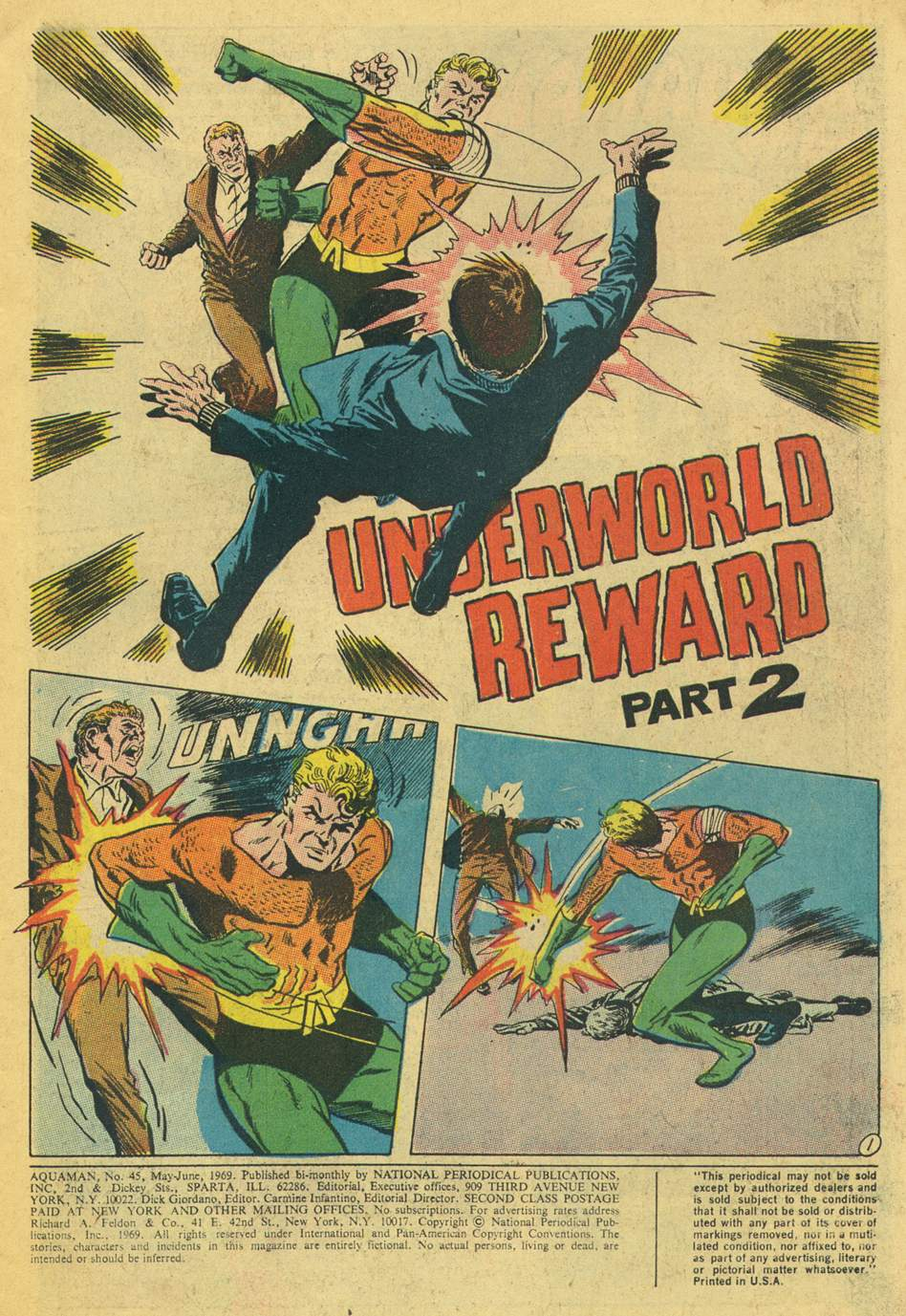 Aquaman (1962) issue 45 - Page 3