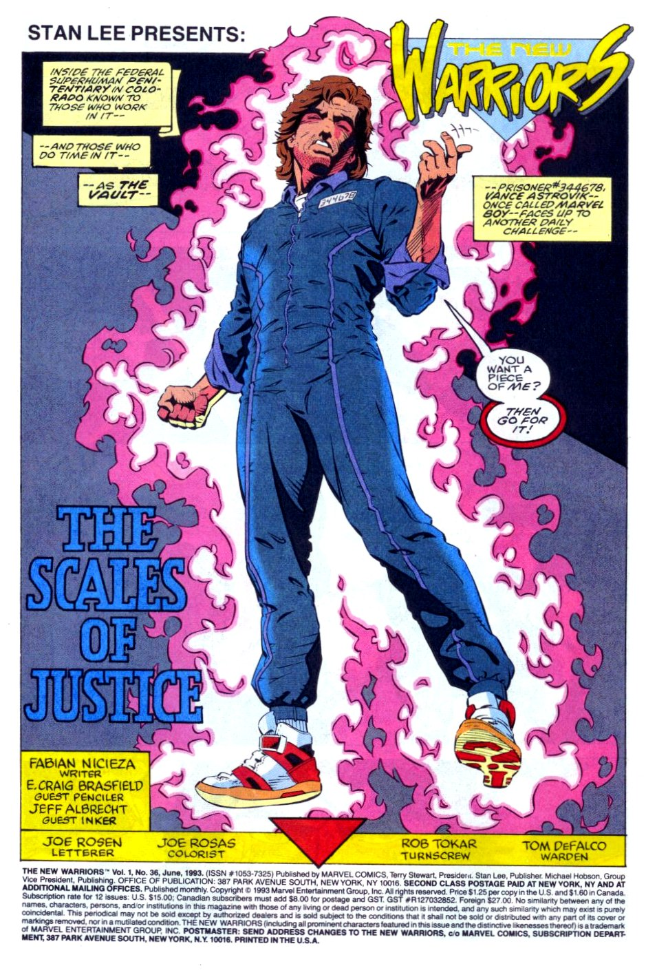 The New Warriors Issue #36 #40 - English 2