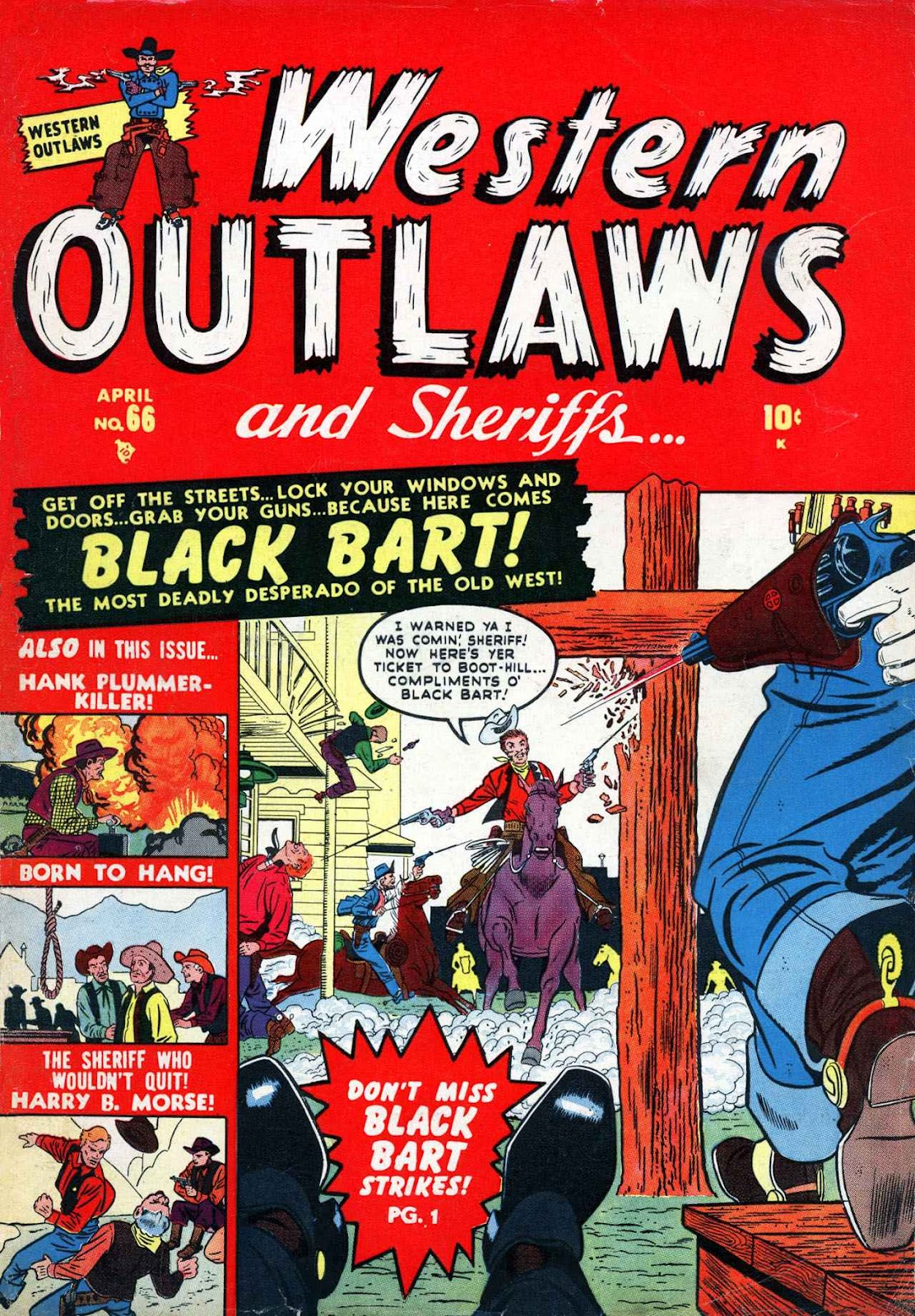 Western Outlaws and Sheriffs issue 66 - Page 1