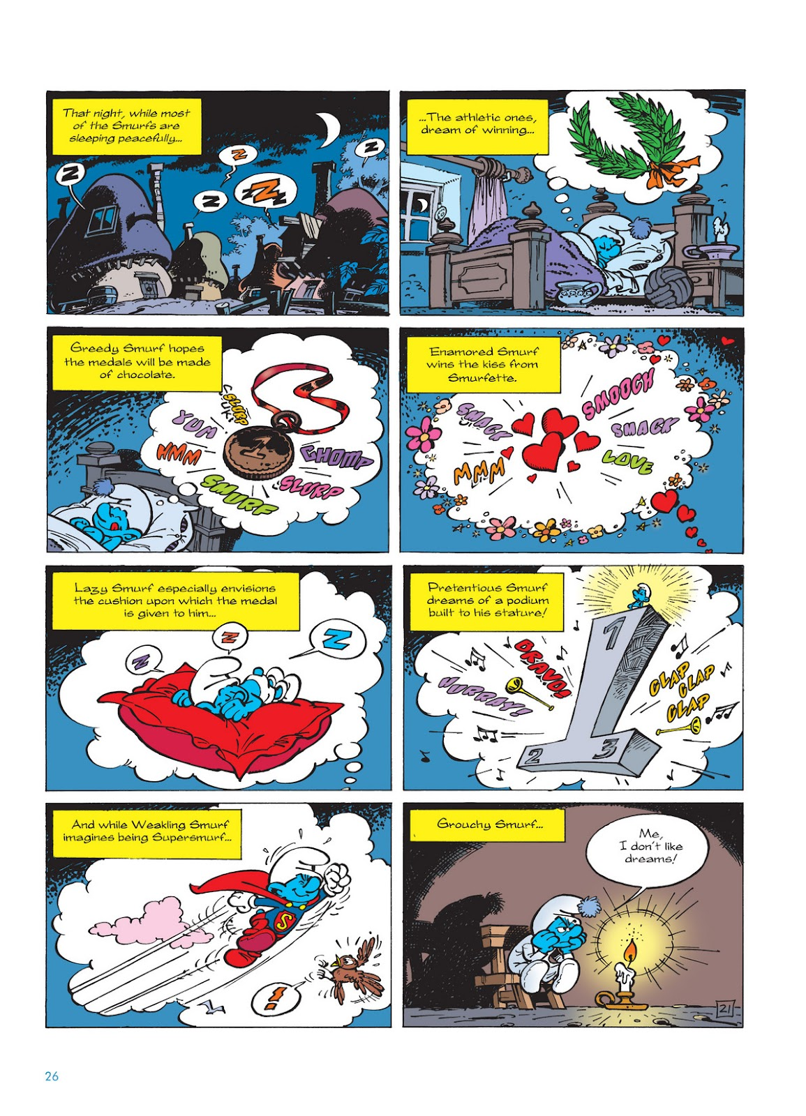 Read online The Smurfs comic -  Issue #11 - 26