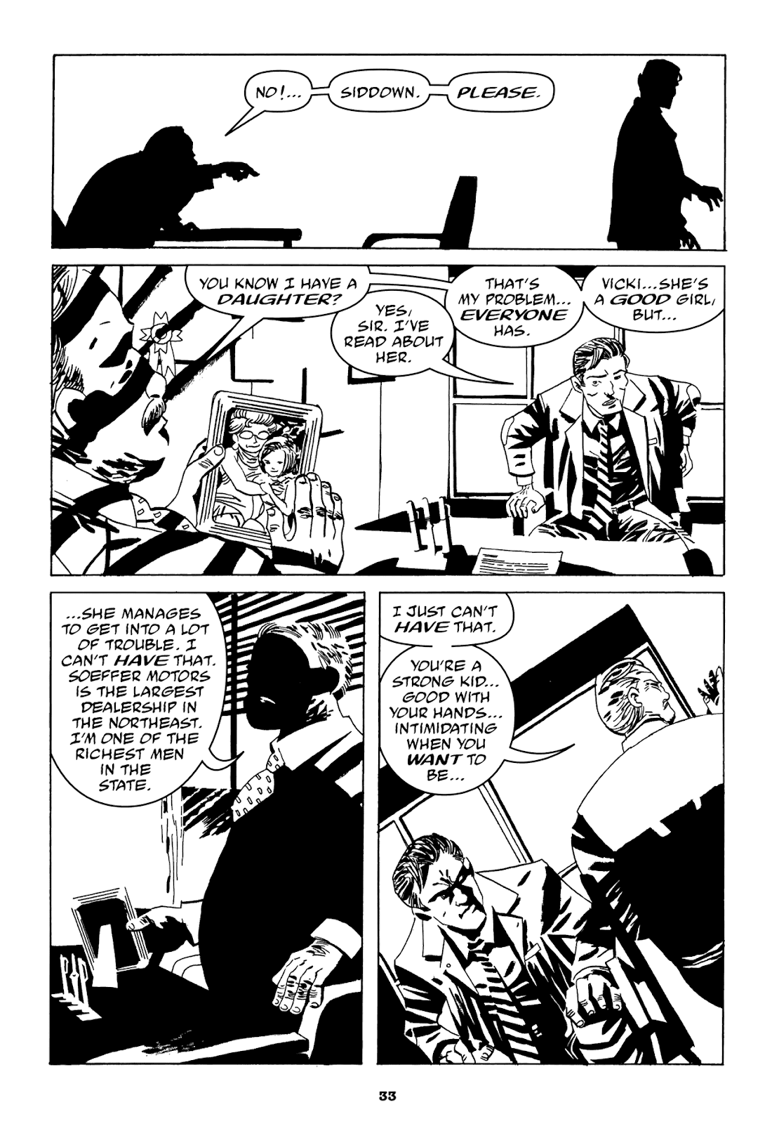 Read online Filthy Rich comic -  Issue # TPB (Part 1) - 35