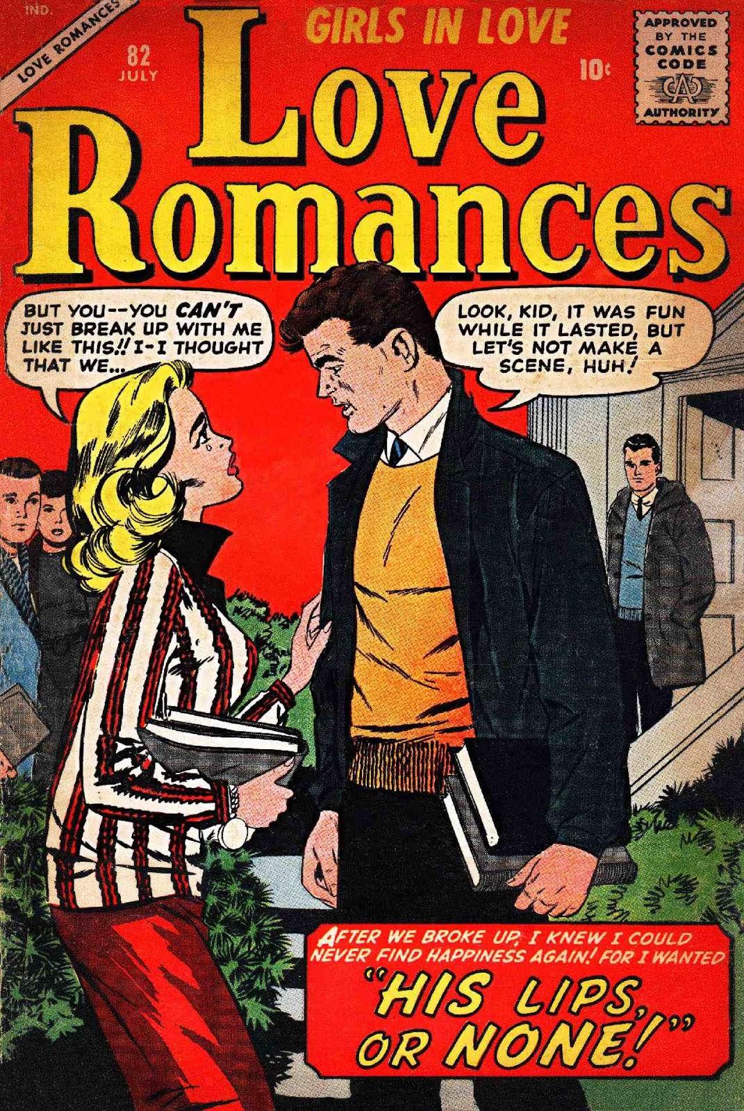 Love Romances (1949) issue 82 - Page 1