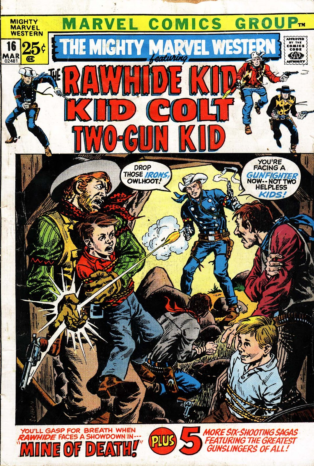 The Mighty Marvel Western issue 16 - Page 1