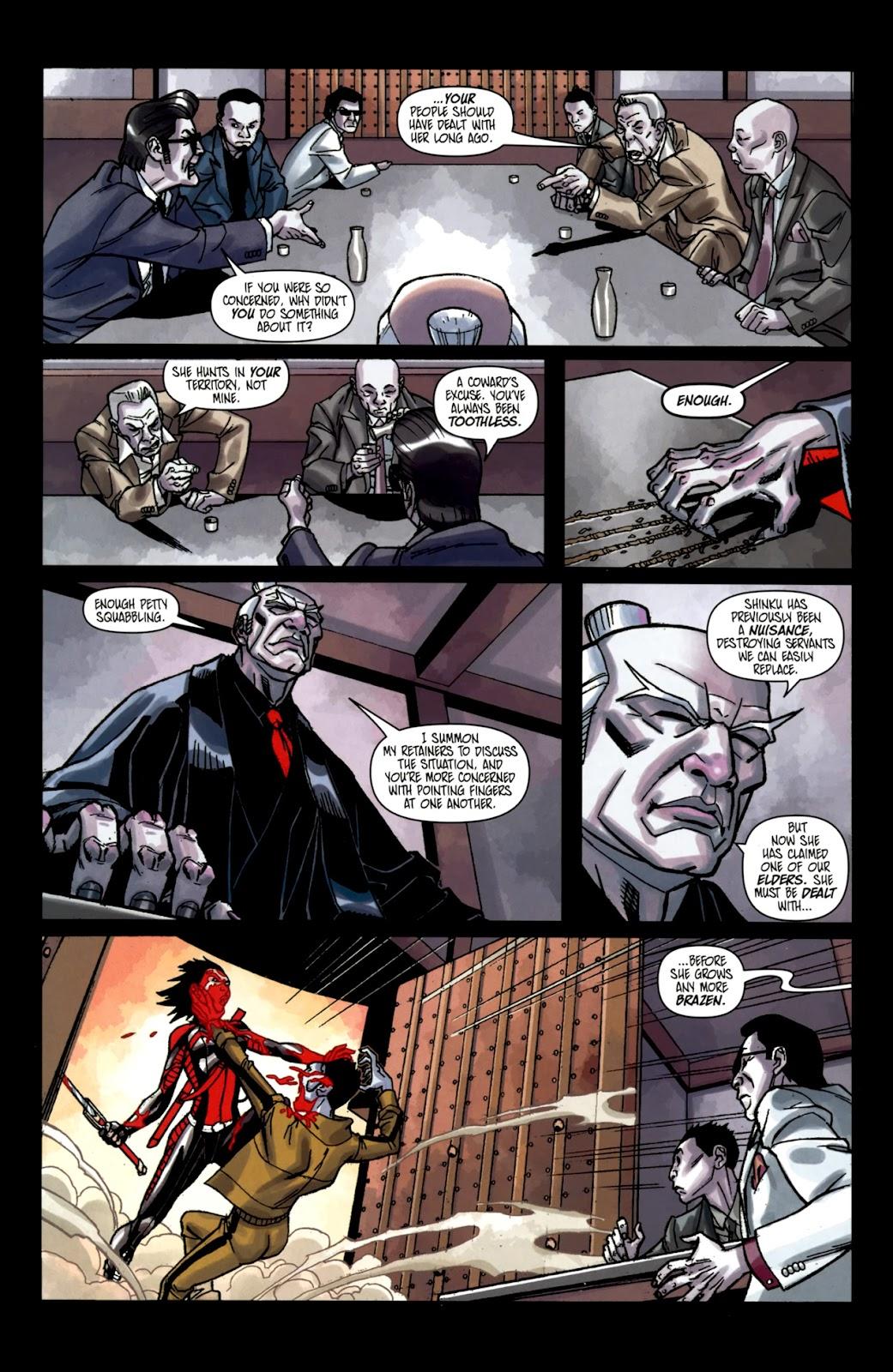 Read online Shinku comic -  Issue #2 - 16