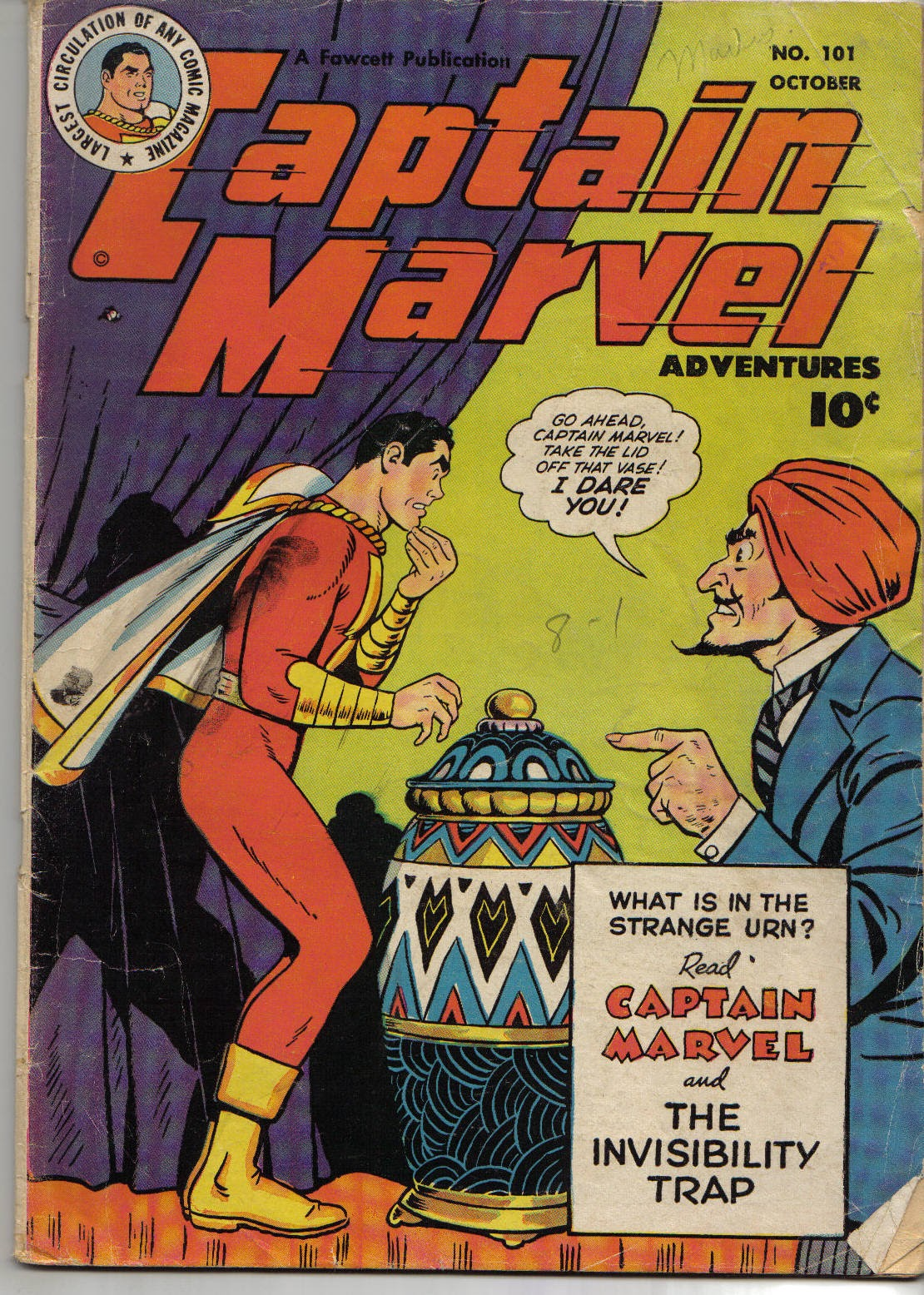 Captain Marvel Adventures 101 Page 1