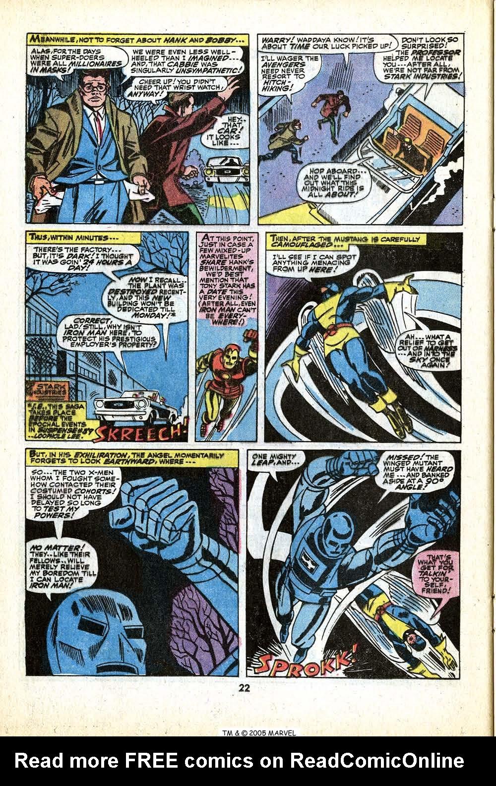 Uncanny X-Men (1963) 79 Page 23