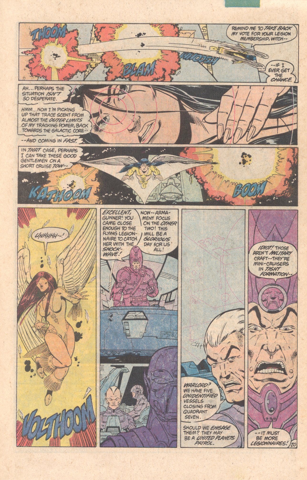 Legion of Super-Heroes (1980) 299 Page 20
