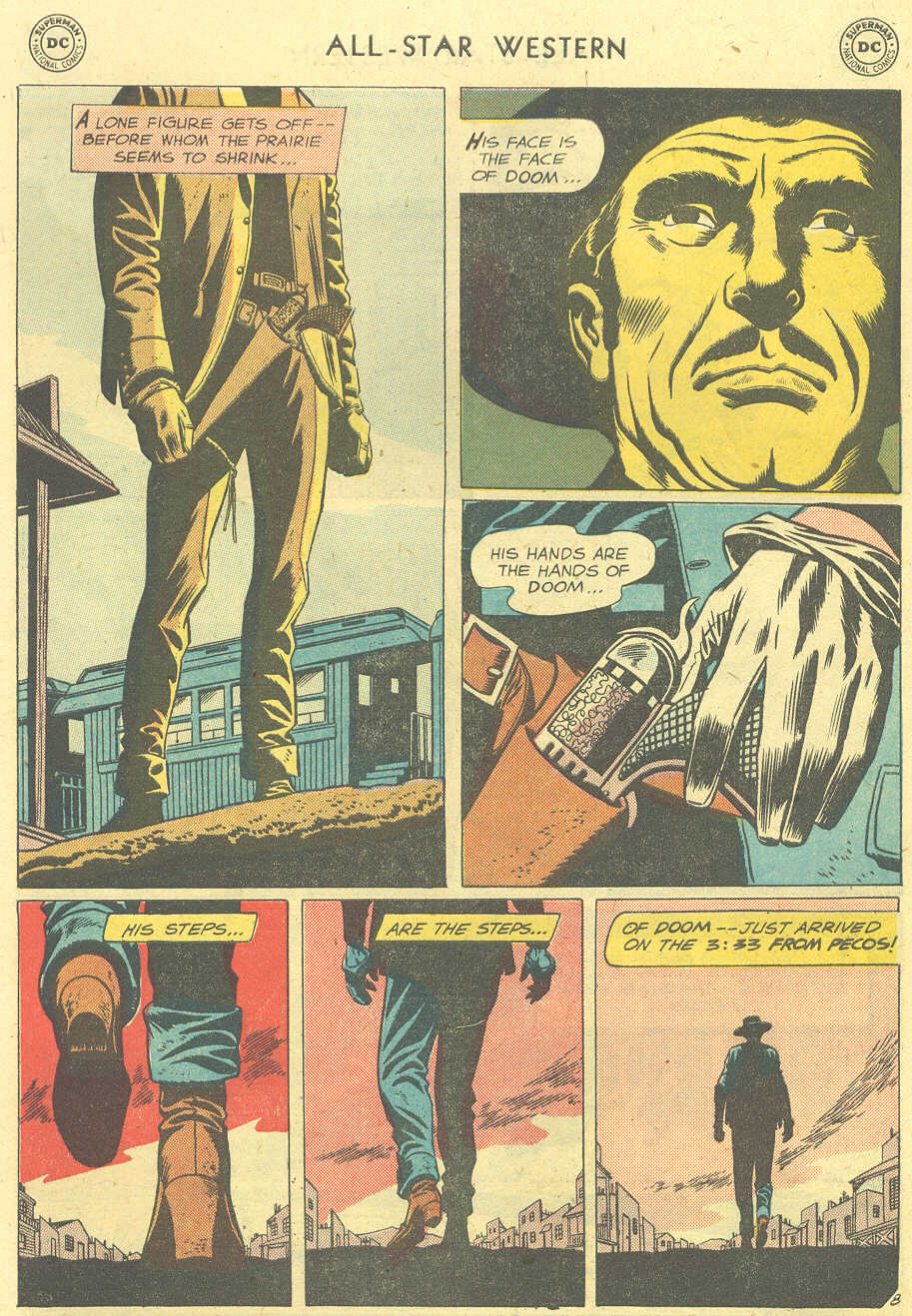 Read online All-Star Western (1951) comic -  Issue #101 - 10