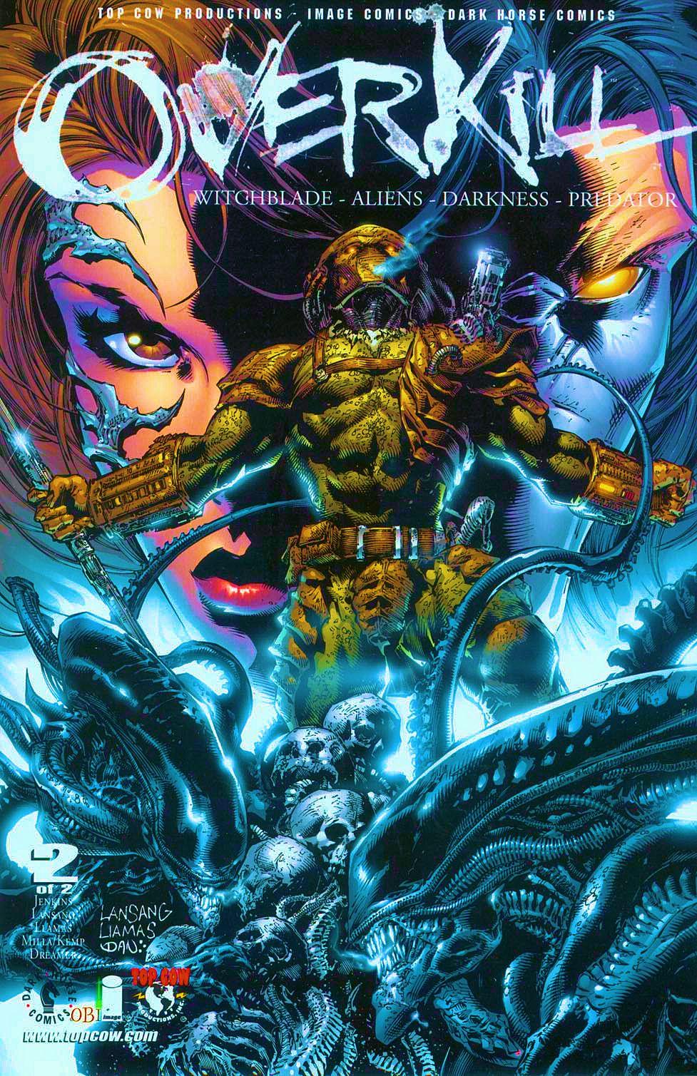 Read online Overkill: Witchblade/Aliens/Darkness/Predator comic -  Issue #2 - 1