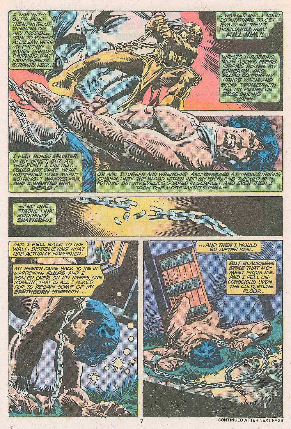 John Carter Warlord of Mars issue 3 - Page 9