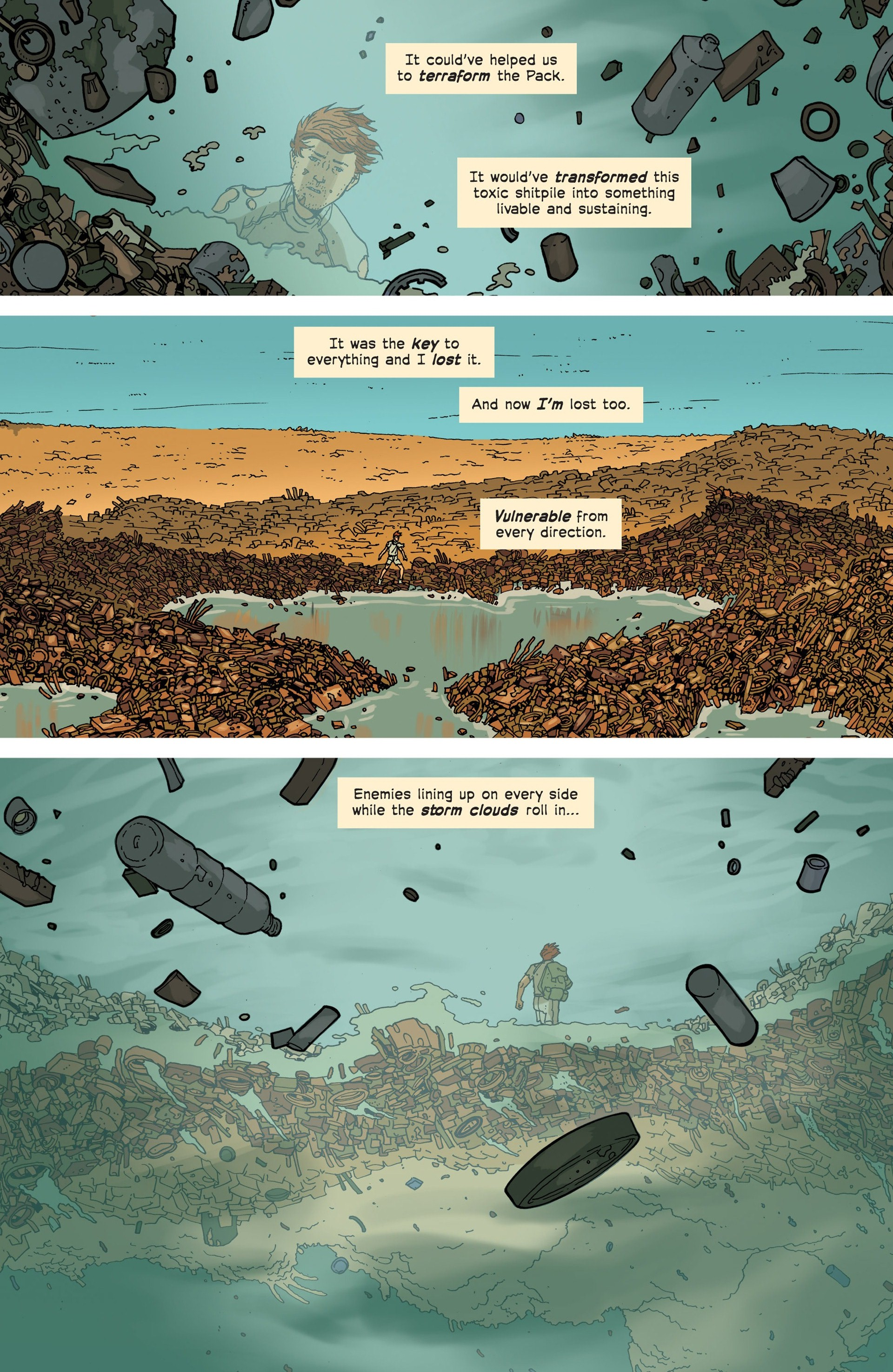 Read online Great Pacific comic -  Issue #3 - 7