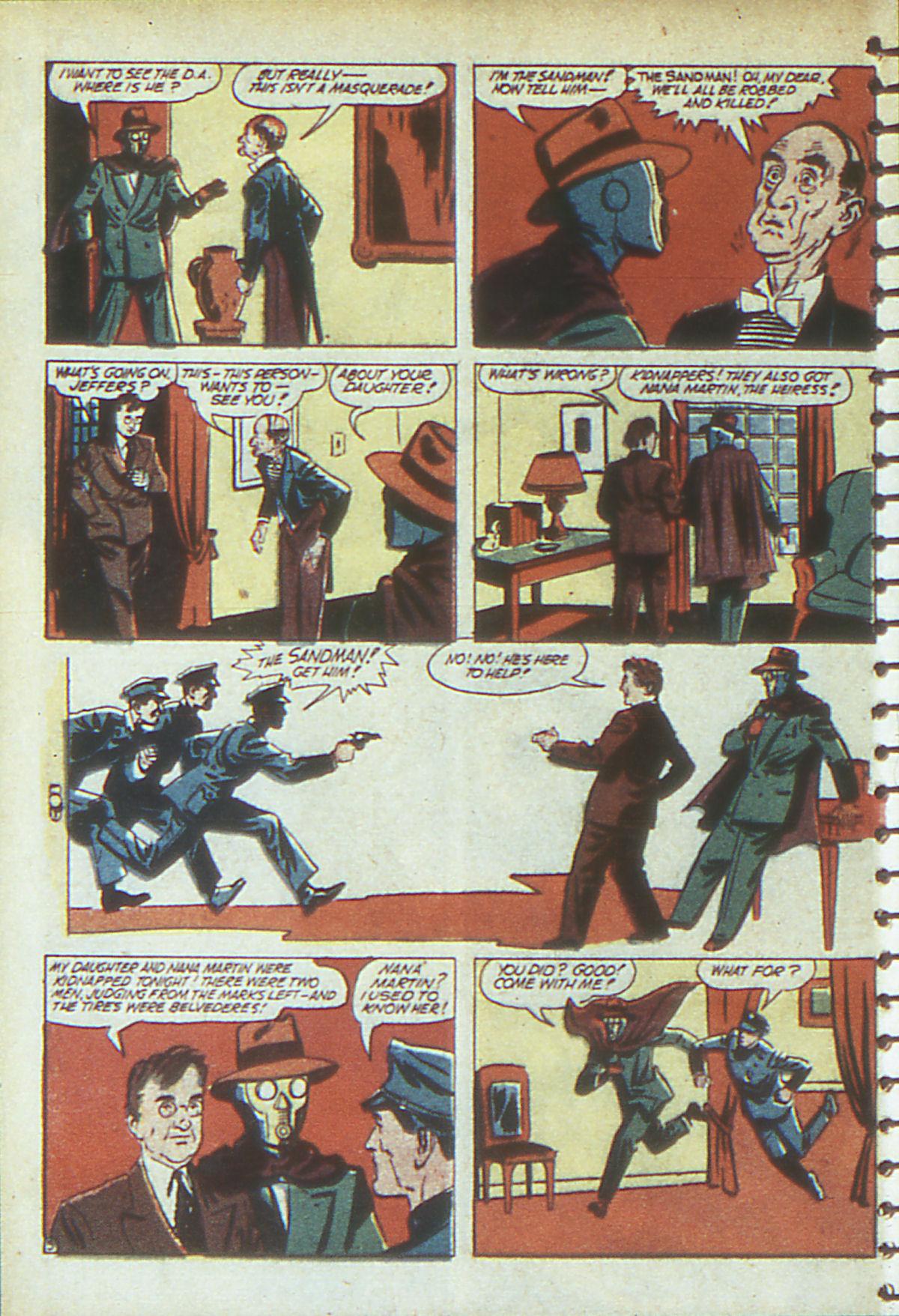 Read online Adventure Comics (1938) comic -  Issue #54 - 61