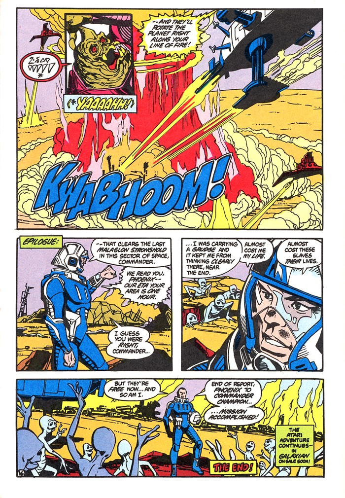 Read online Atari Force (1982) comic -  Issue #4 - 18