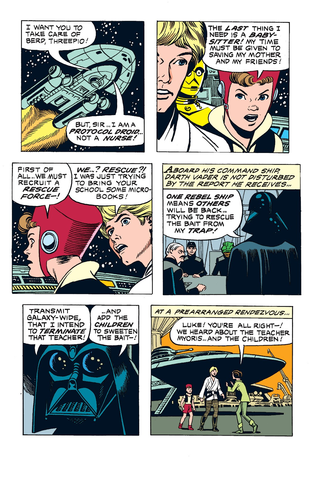 Read online Star Wars Legends: The Newspaper Strips - Epic Collection comic -  Issue # TPB (Part 3) - 7