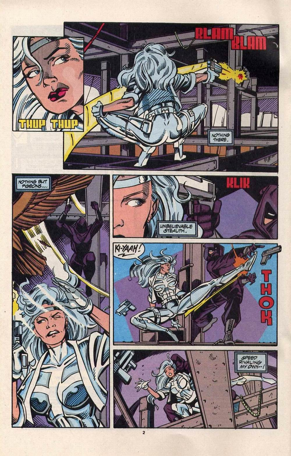 Read online Silver Sable and the Wild Pack comic -  Issue #28 - 3