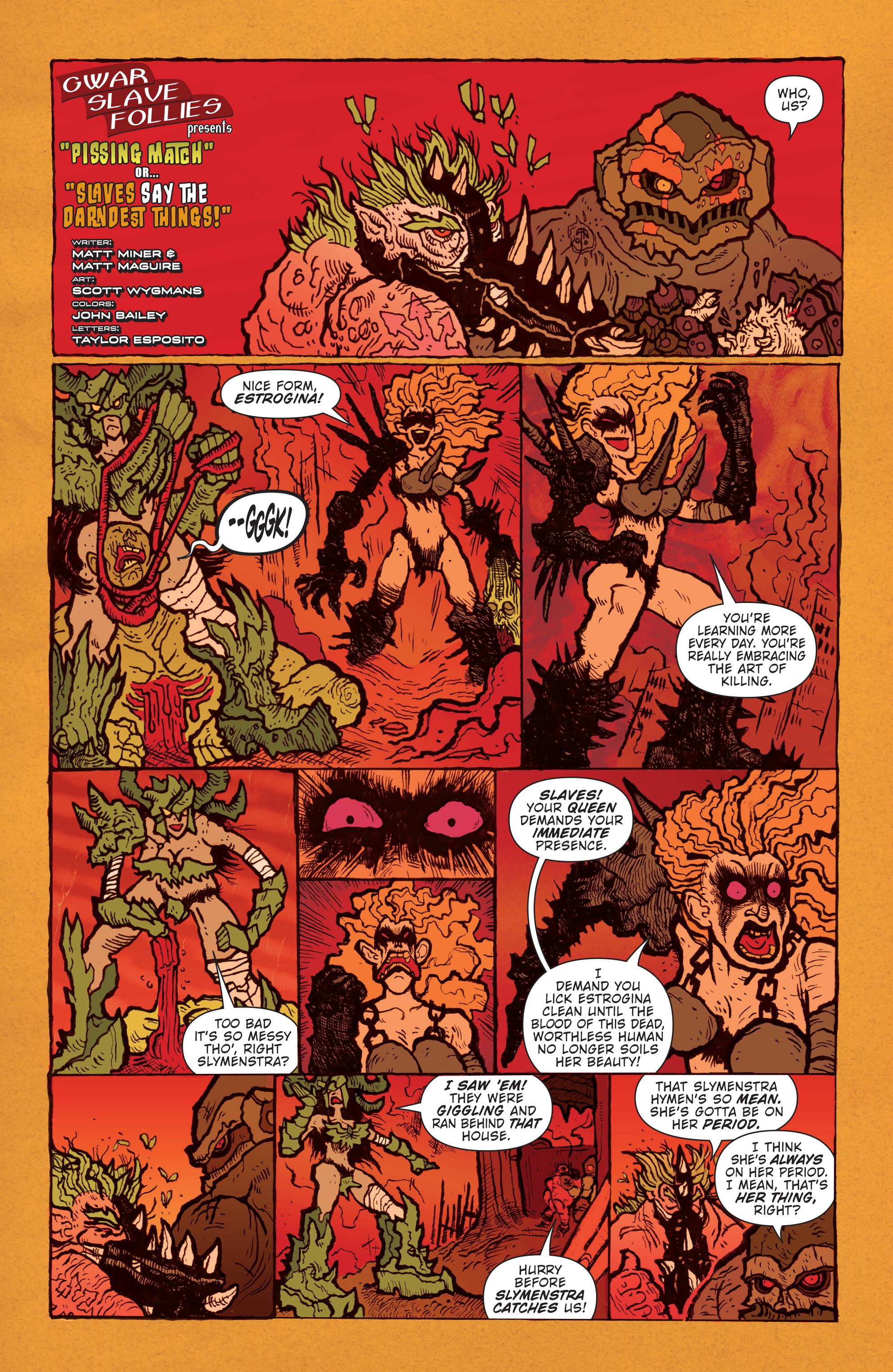 Read online Gwar: Orgasmageddon comic -  Issue #1 - 25