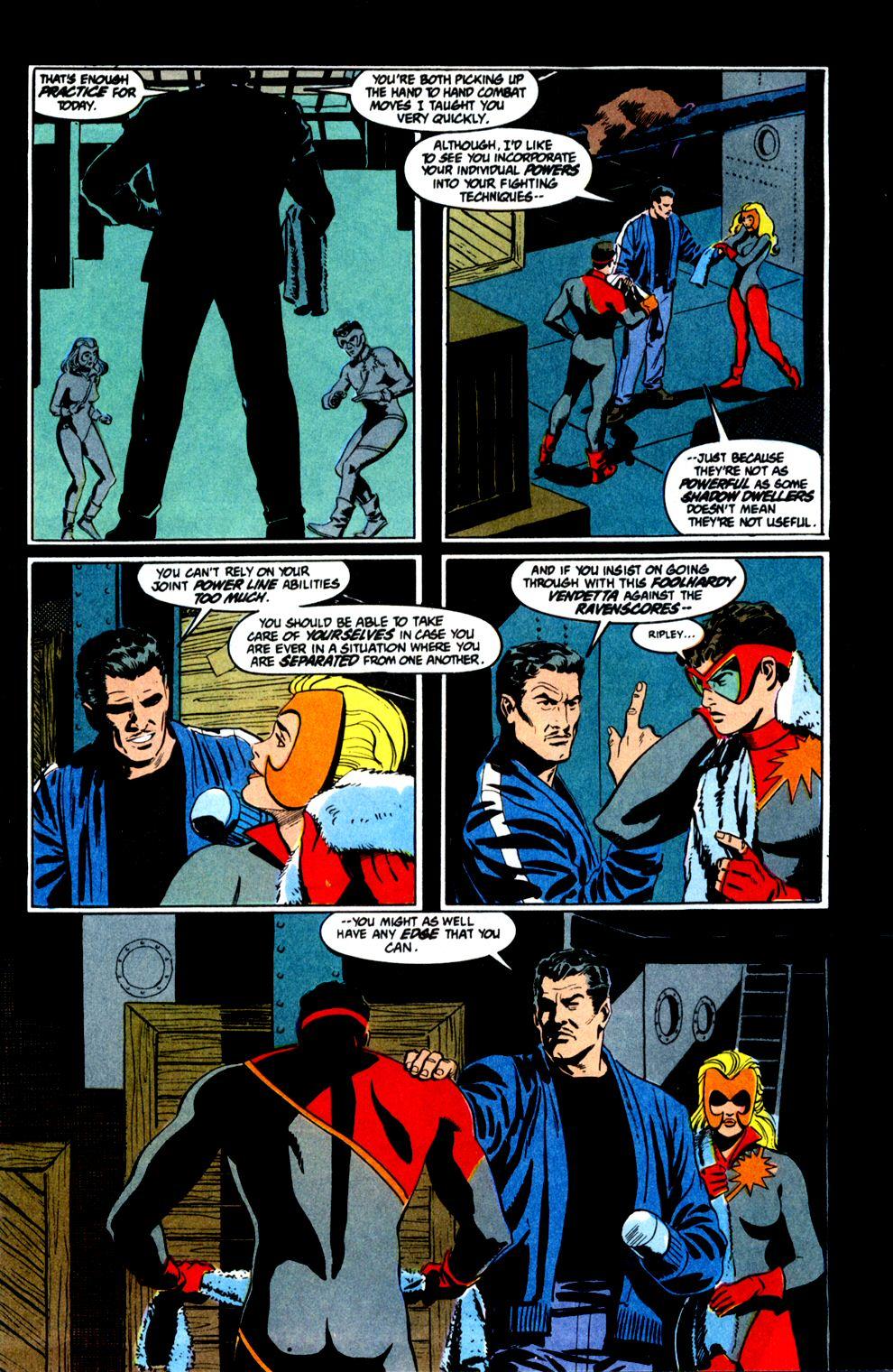 Read online Powerline comic -  Issue #8 - 6