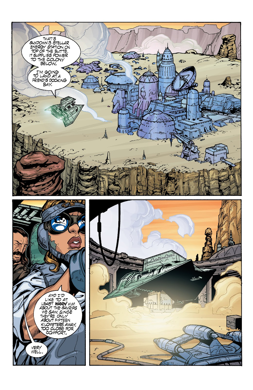 Read online Star Wars Legends: Rise of the Sith - Epic Collection comic -  Issue # TPB 1 (Part 4) - 9
