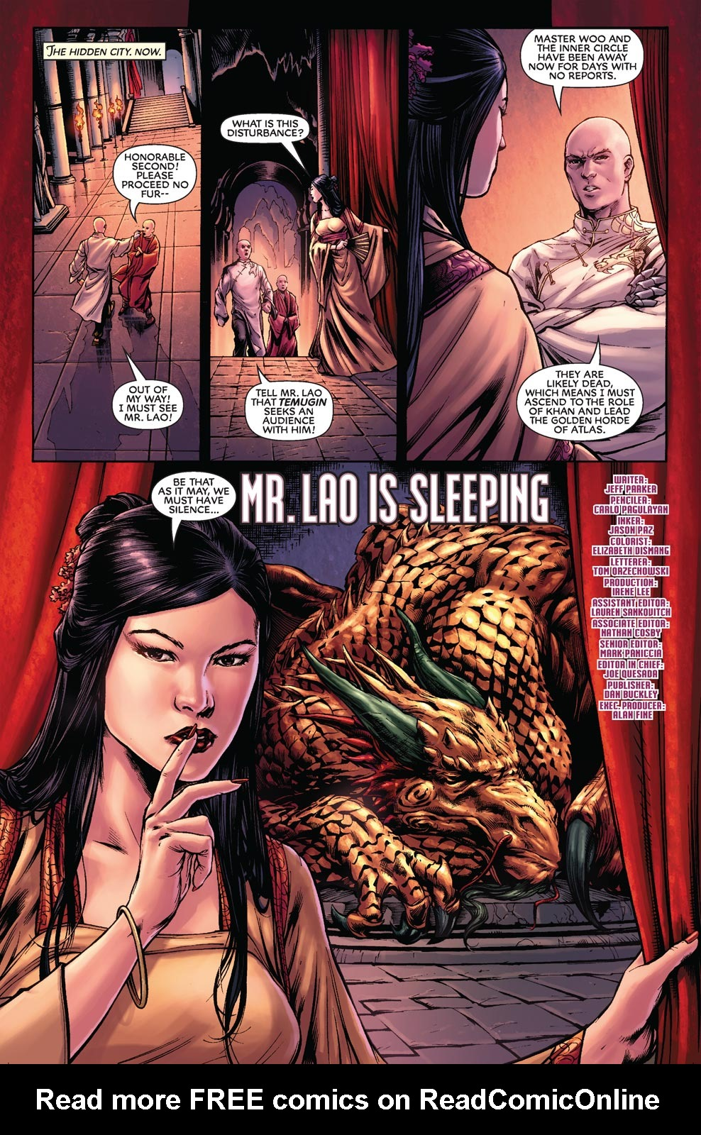 Read online Agents Of Atlas (2009) comic -  Issue #7 - 17