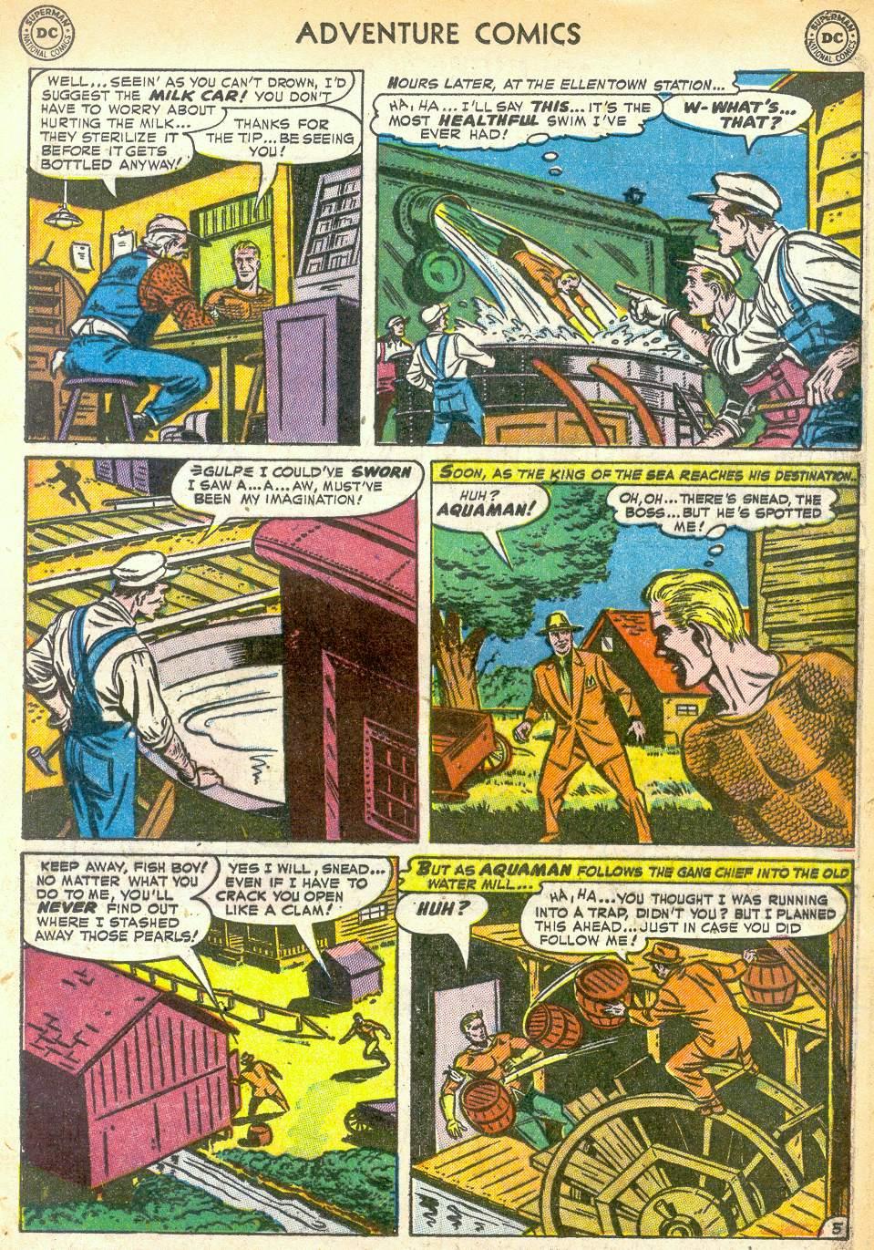 Read online Adventure Comics (1938) comic -  Issue #172 - 21