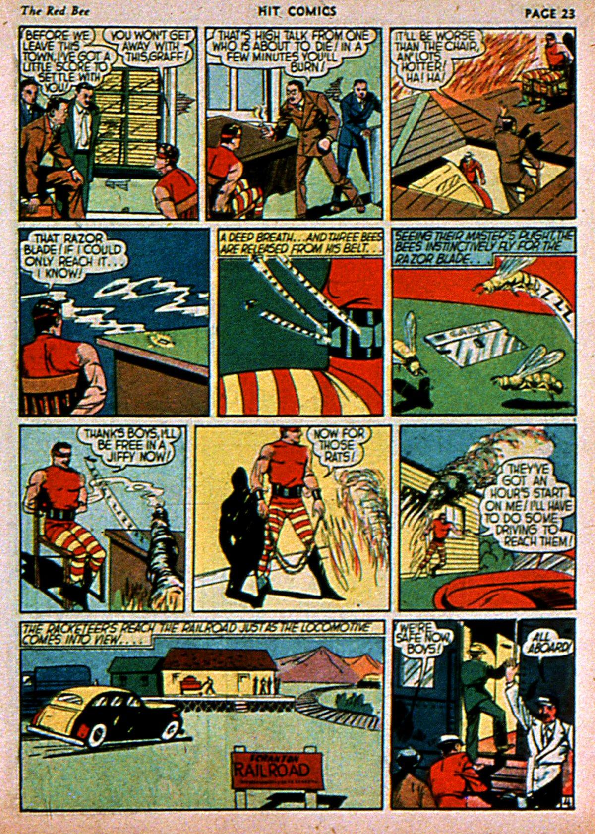Read online Hit Comics comic -  Issue #3 - 25