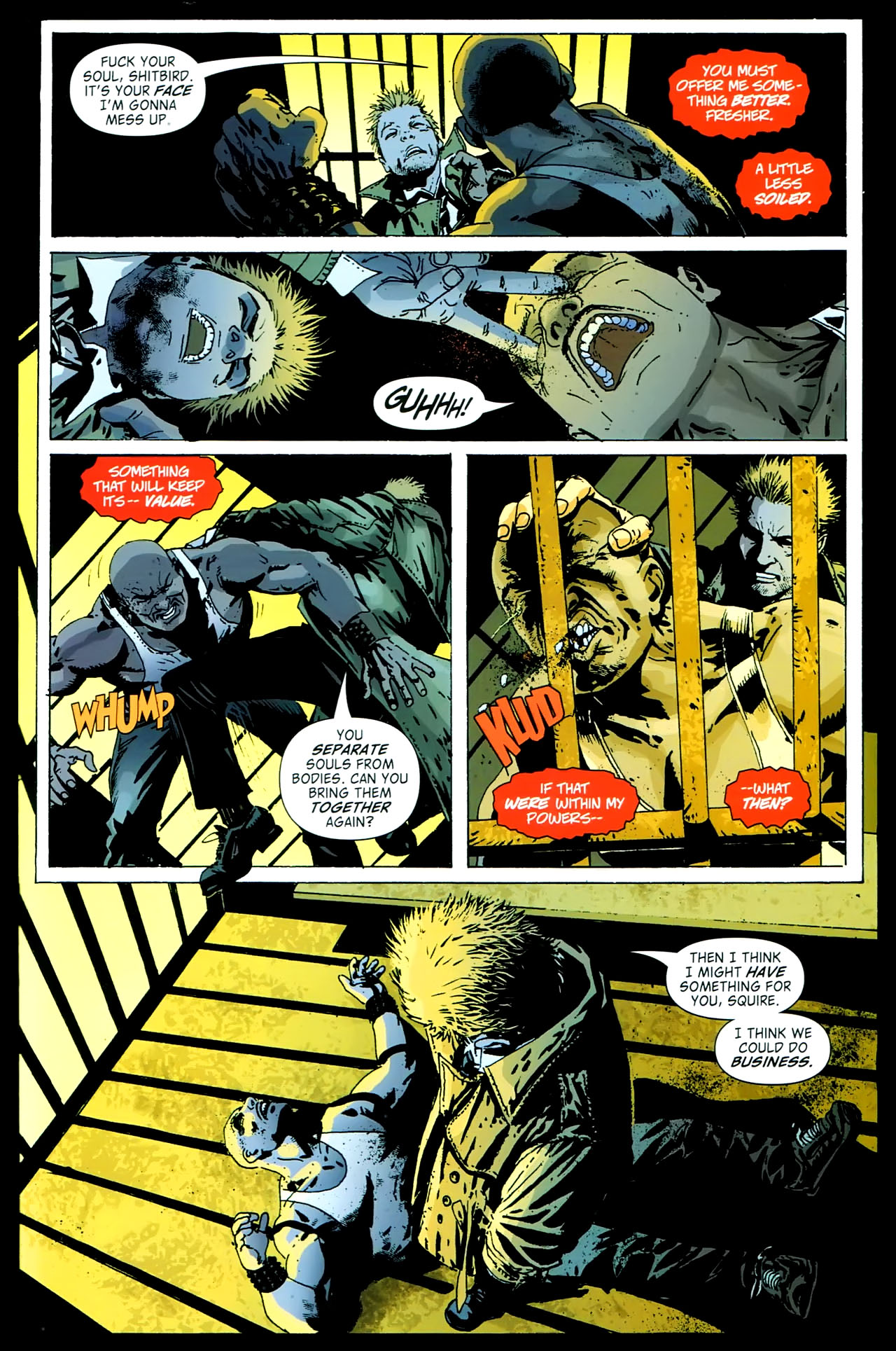 Read online John Constantine Hellblazer: All His Engines comic -  Issue # Full - 93