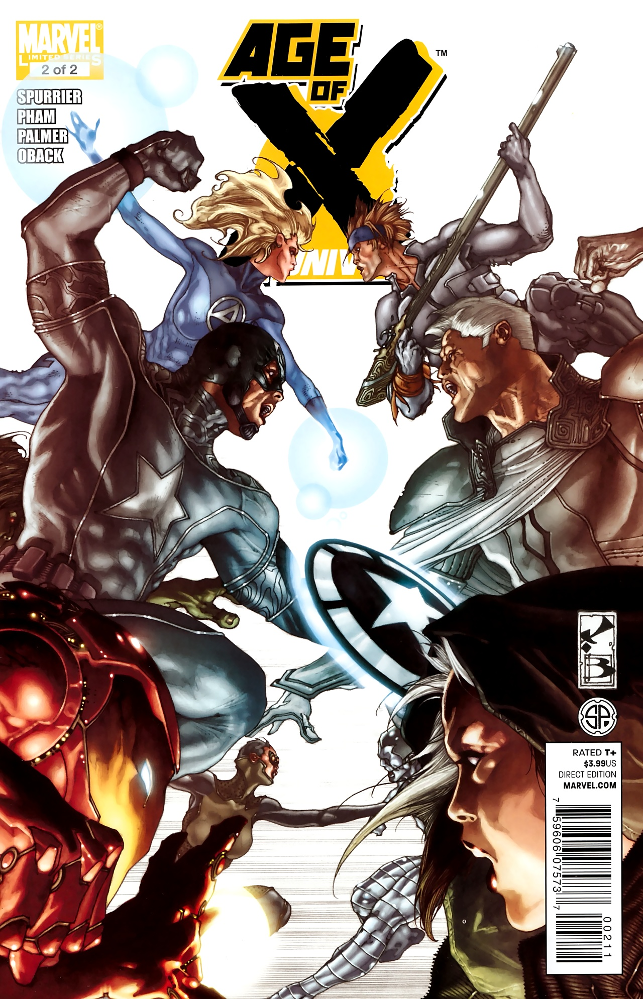 Read online Age of X: Universe comic -  Issue #2 - 1