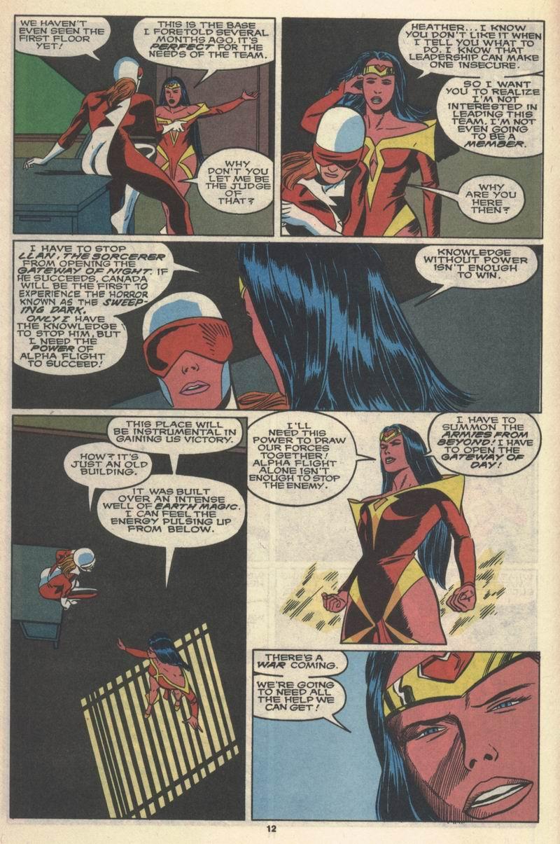 Read online Alpha Flight (1983) comic -  Issue #78 - 11