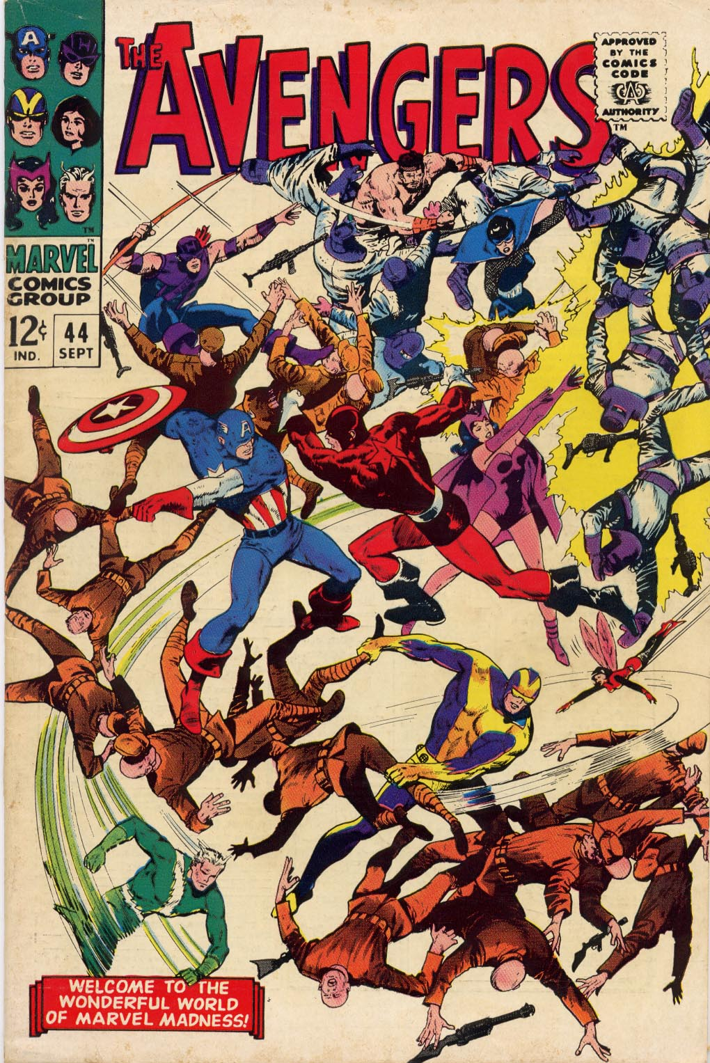 The Avengers (1963) 44 Page 0