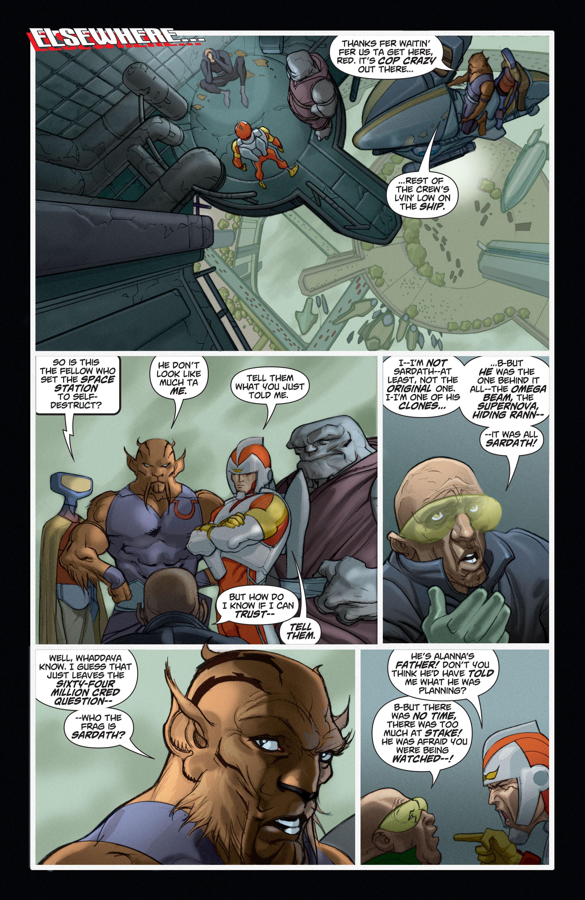 Read online Adam Strange (2004) comic -  Issue #6 - 3
