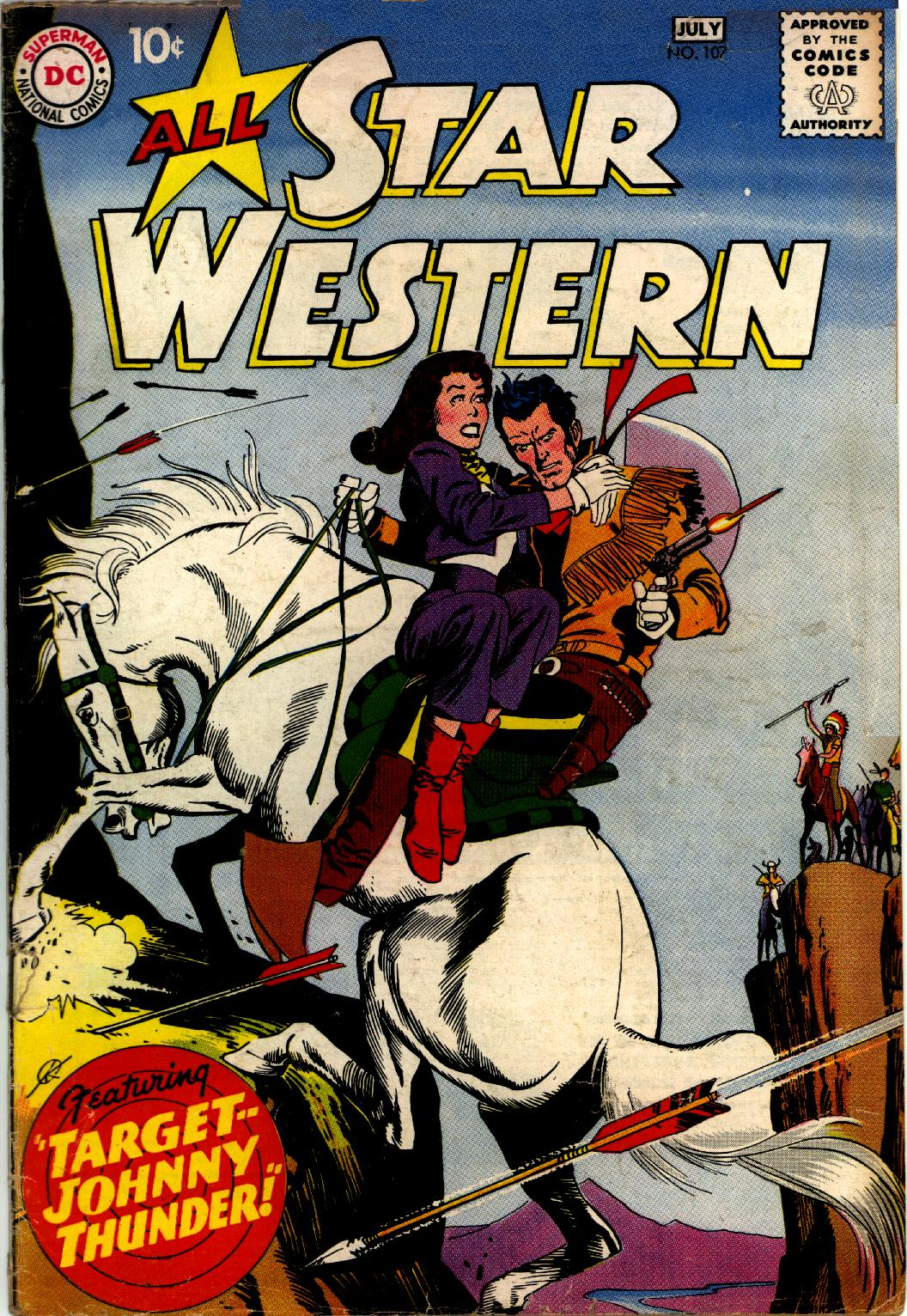 Read online All-Star Western (1951) comic -  Issue #107 - 1