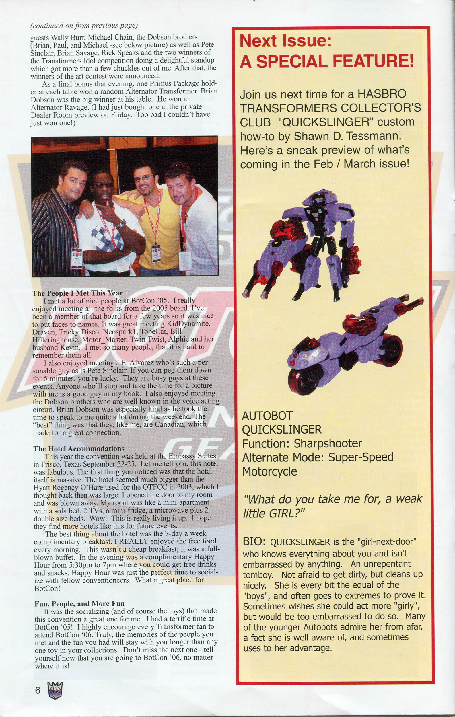 Read online Transformers: Collectors' Club comic -  Issue #6 - 6
