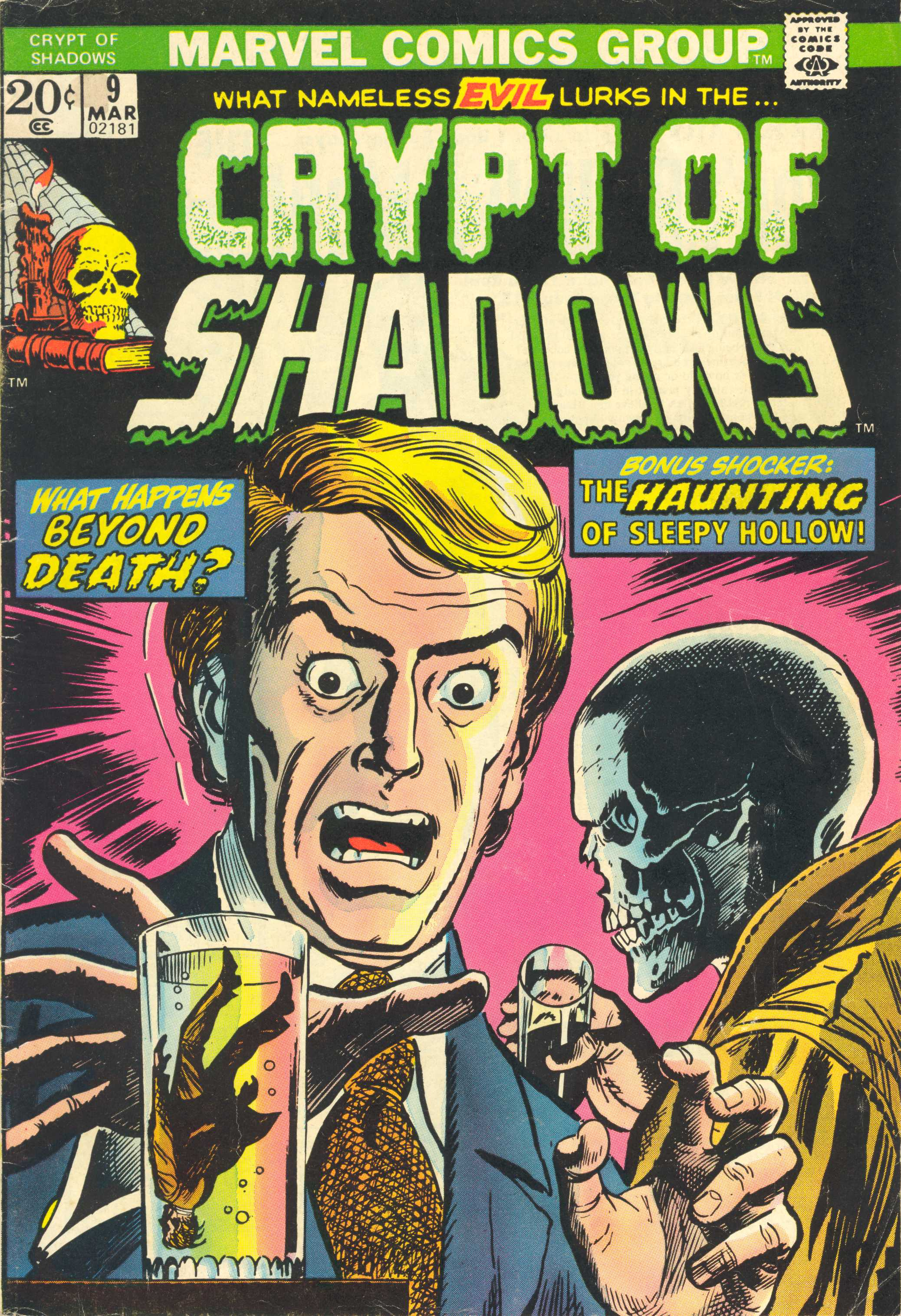 Read online Crypt of Shadows comic -  Issue #9 - 1