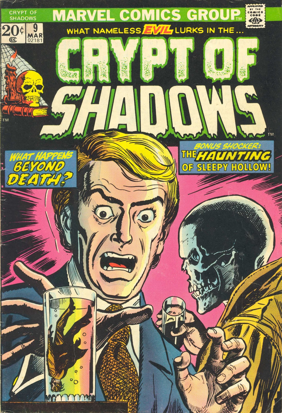 Crypt of Shadows (1973) 9 Page 1