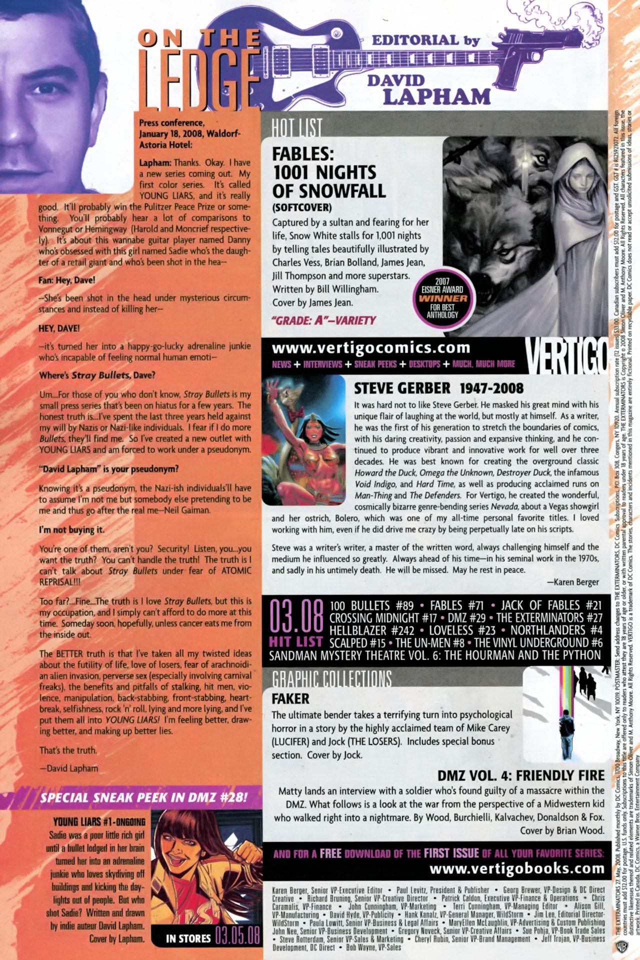 Read online The Exterminators comic -  Issue #27 - 24