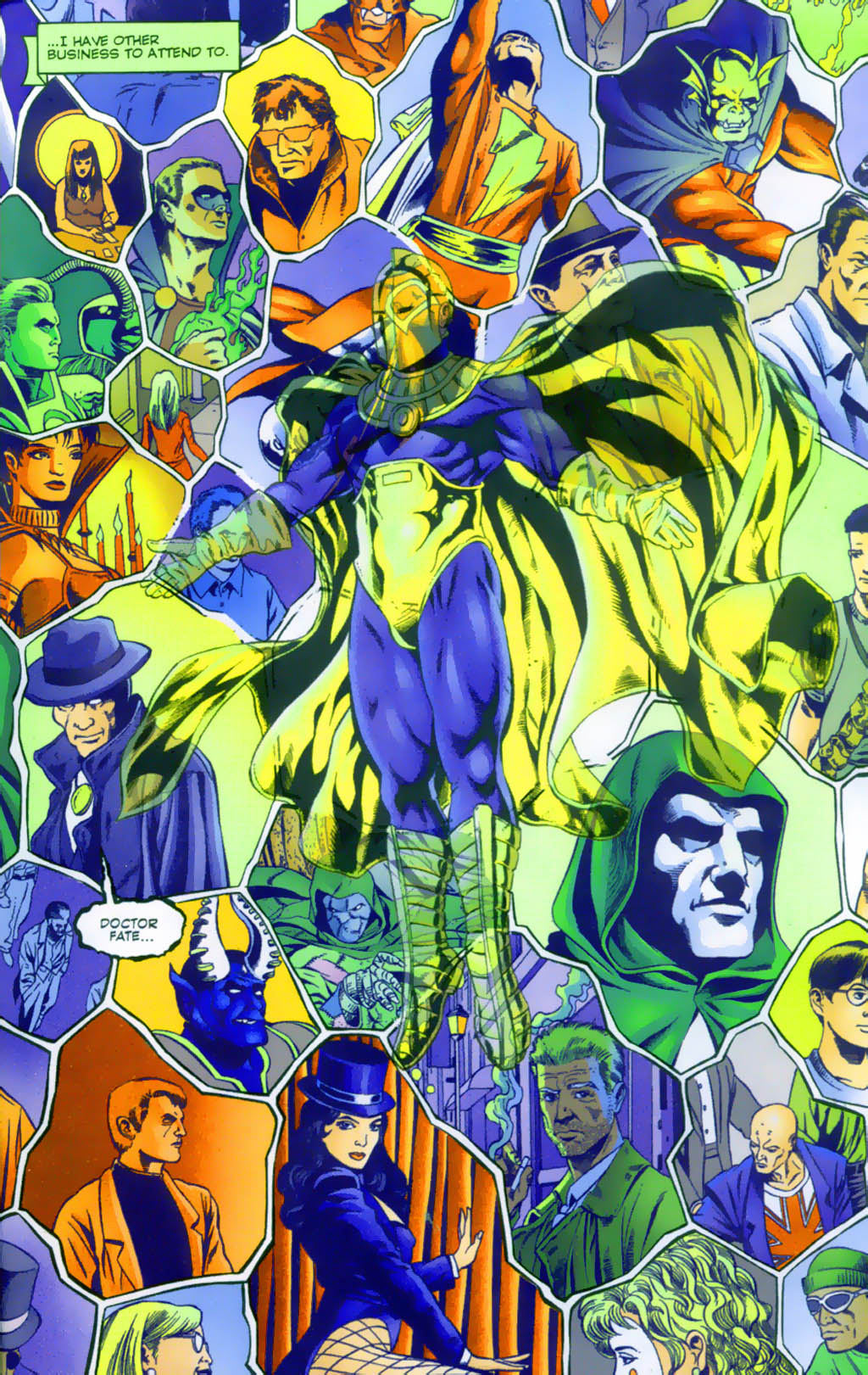 Read online Doctor Fate (2003) comic -  Issue #1 - 17