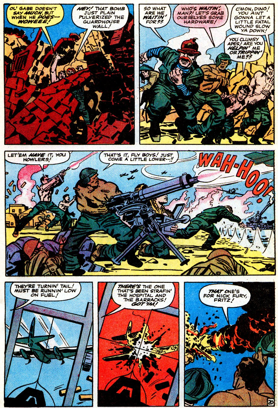 Read online Sgt. Fury comic -  Issue # _Special 5 - 63