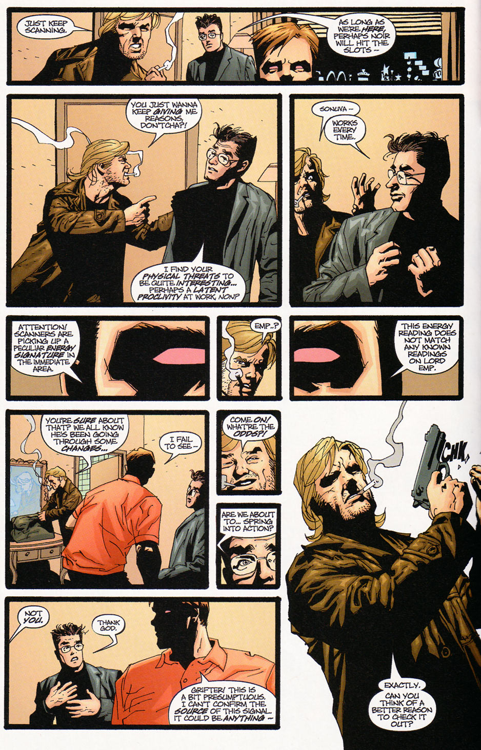 Wildcats (1999) Issue #9 #10 - English 4
