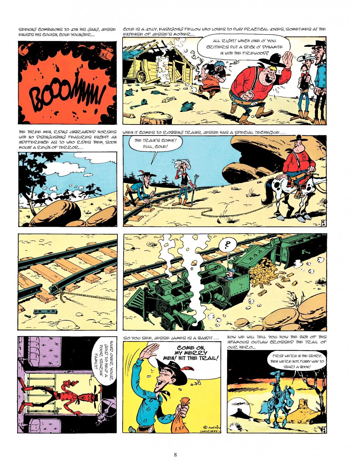 Read online A Lucky Luke Adventure comic -  Issue #4 - 10