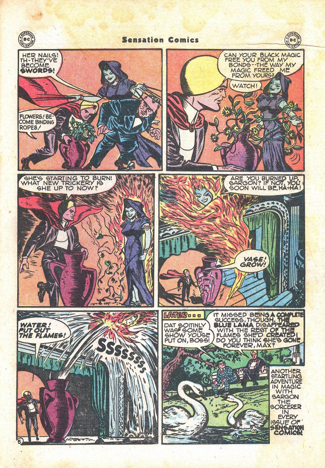 Read online Sensation (Mystery) Comics comic -  Issue #71 - 29