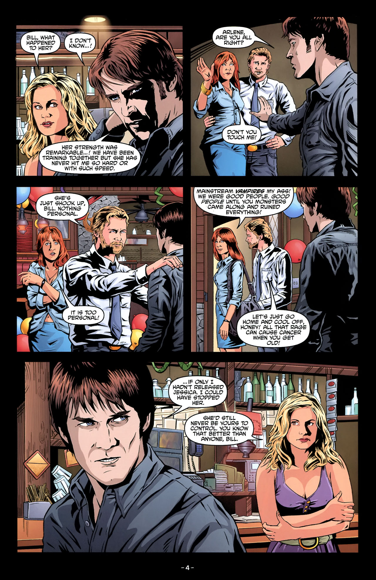 Read online True Blood: Tainted Love comic -  Issue #2 - 8